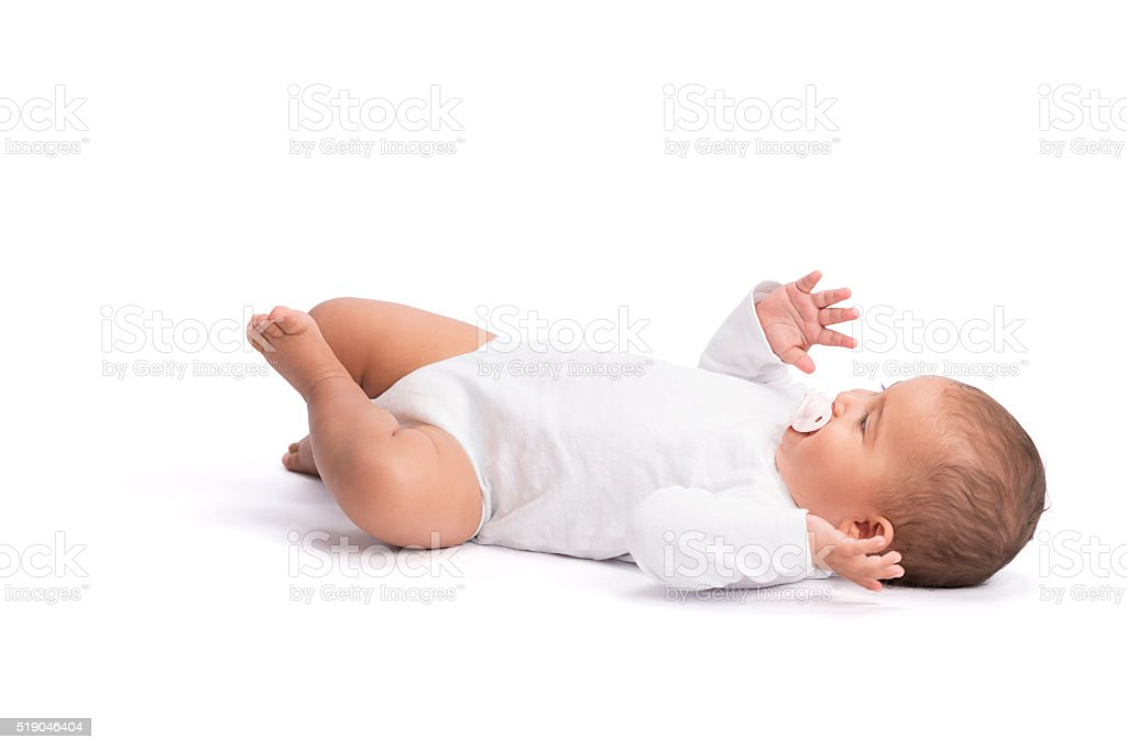 Baby development. stock photo