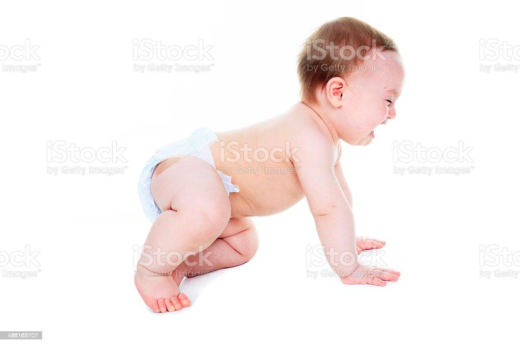 Baby Windel-Weinen Seite – Foto