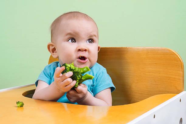 Baby nicht wie Brokkoli – Foto