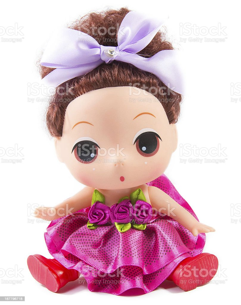 baby doll stock photo