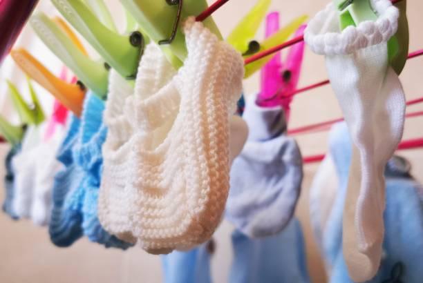 Vestidos de bebé - foto de stock