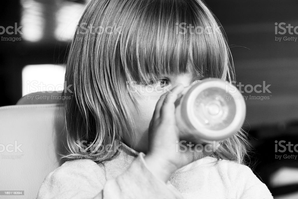 Baby drink royalty-free stock photo