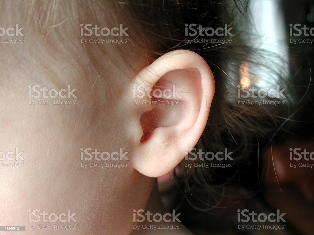Baby Ear royalty-free stock photo