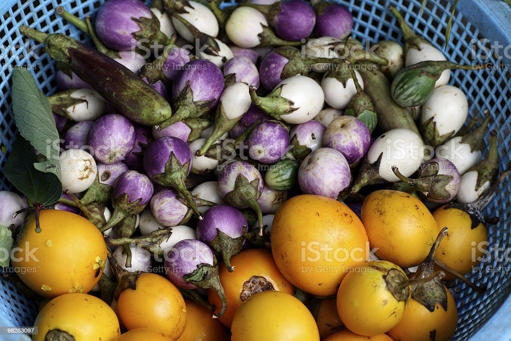 Baby Eggplant royalty-free stock photo