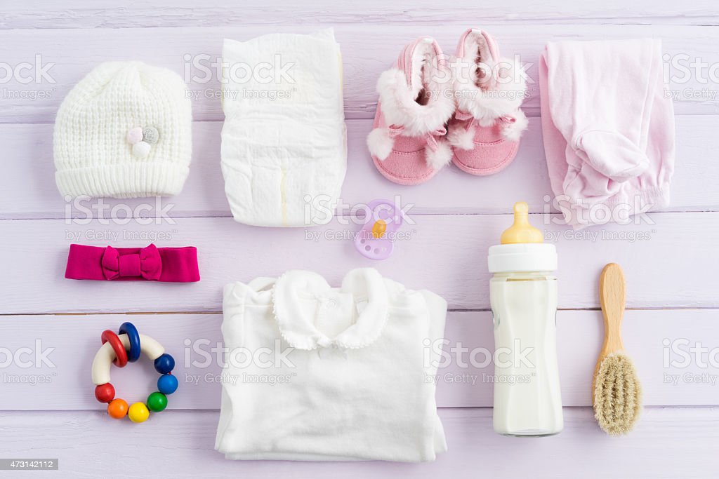 Baby equipment stock photo