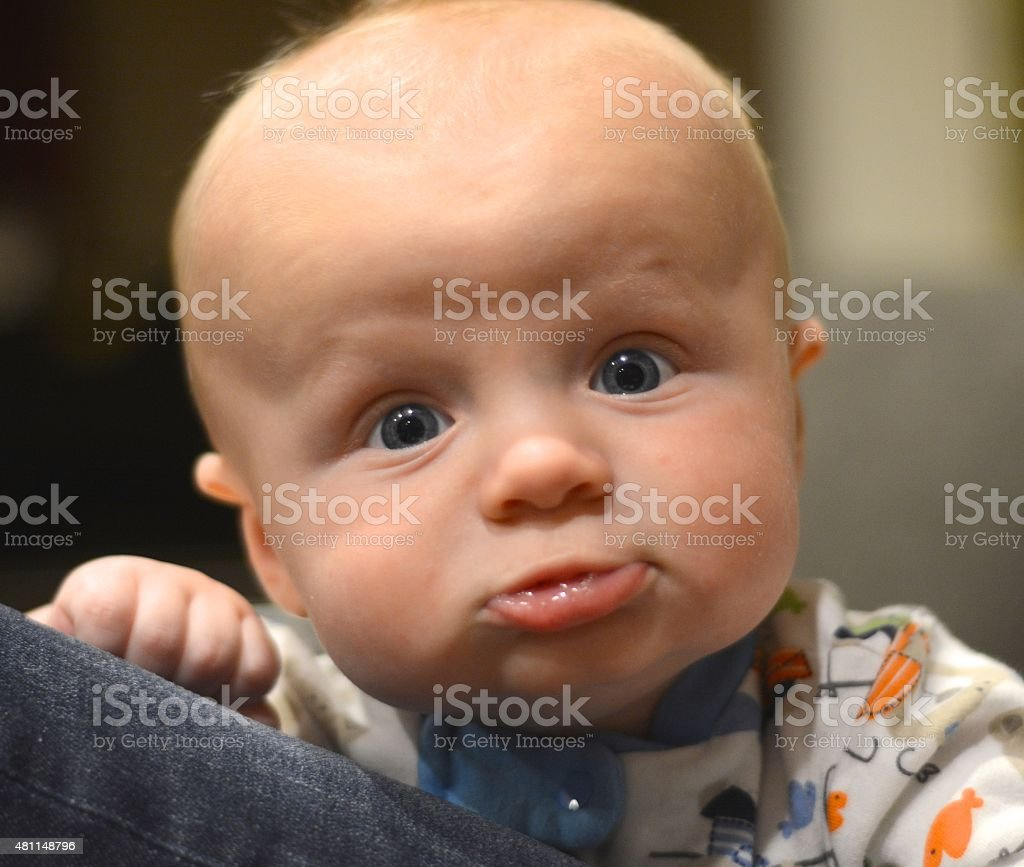 Baby Expressions stock photo