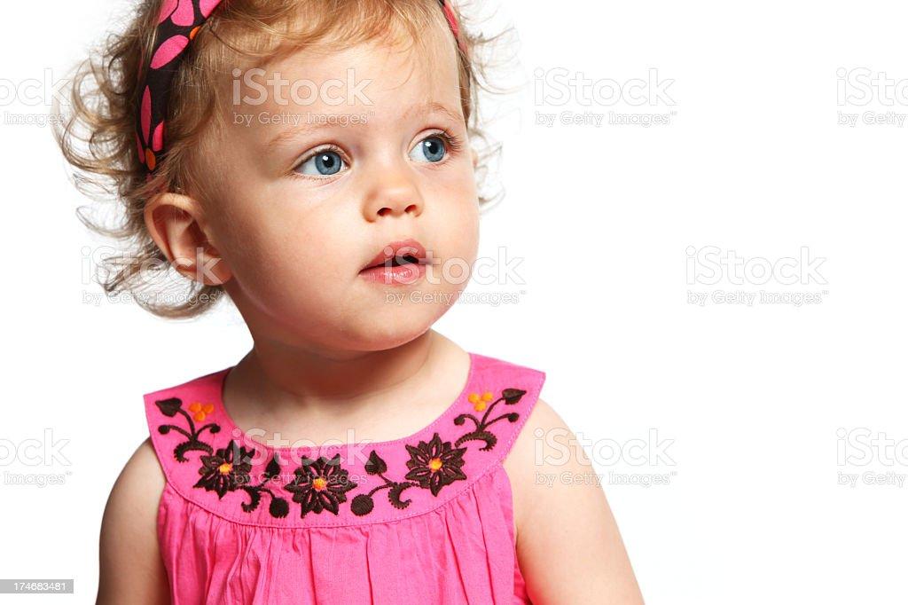 Baby Face royalty-free stock photo