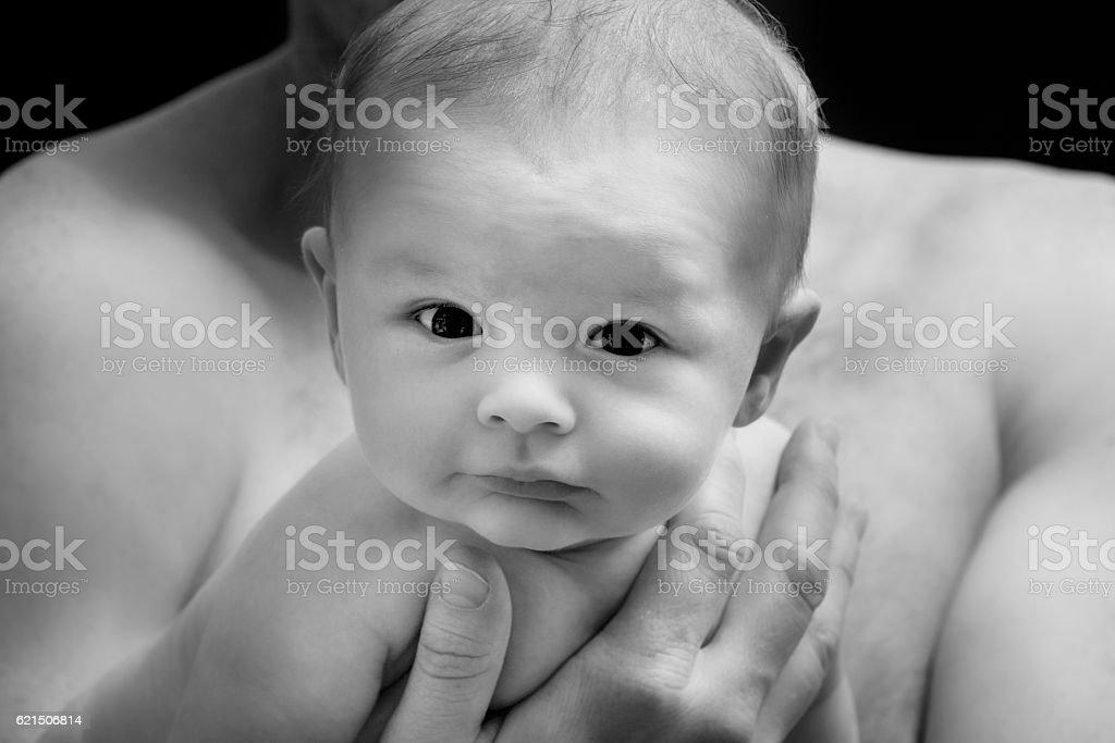 Bambino viso  foto stock royalty-free
