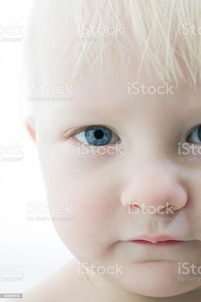 Rosto de Criança foto de stock royalty-free