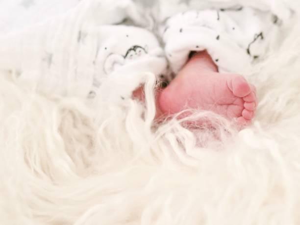 pieds de bébé - josianne toubeix photos et images de collection