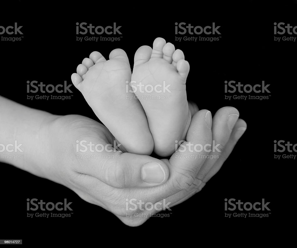 Bambino piedi foto stock royalty-free
