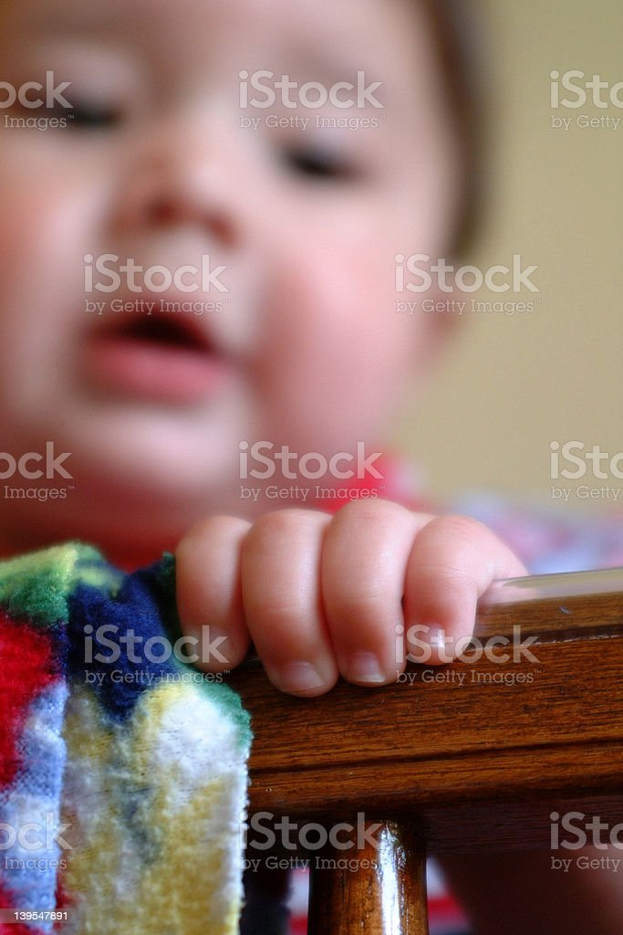 Baby Fingers royalty-free stock photo