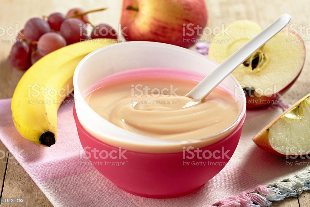 baby food royalty-free stock photo