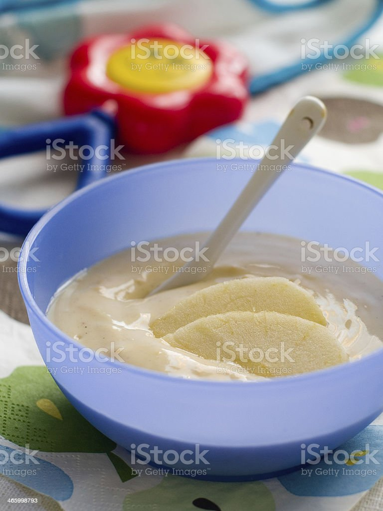 baby food stock photo