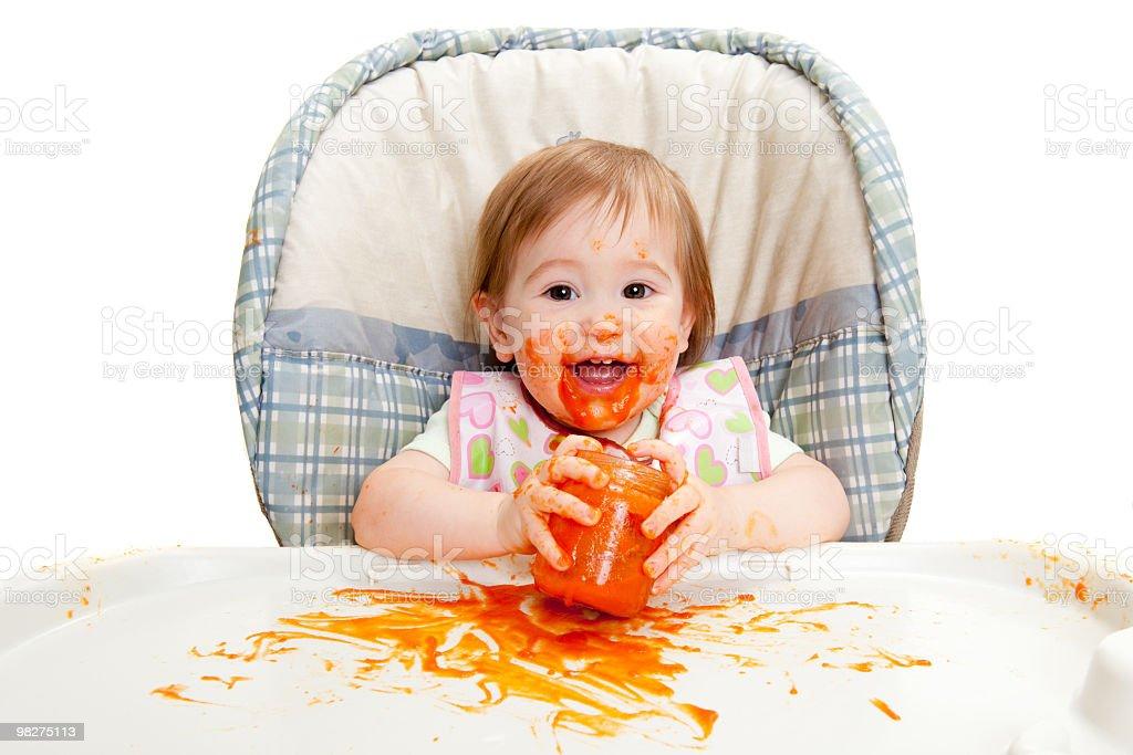 Baby food royalty-free stock photo