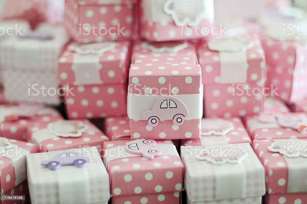 Baby Gifts royalty-free stock photo