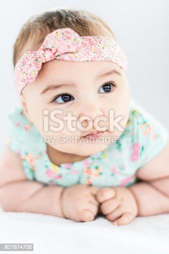istock Baby Girl Crawling, Development Stage 927974700