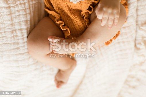 istock Baby Girl Hands & Feet 1167042121