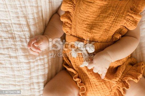 istock Baby Girl Hands & Feet 1167042136