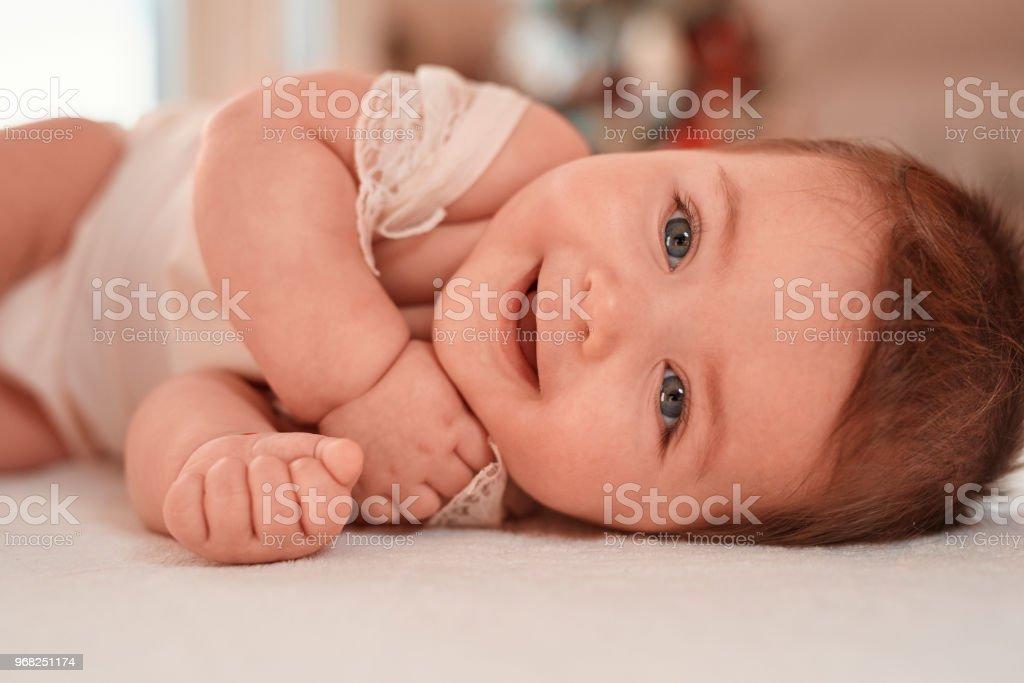 Babymädchen Spaß – Foto