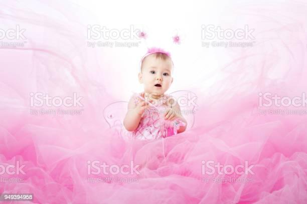Baby girl in pink dress beautiful child portrait infant kid dressed picture id949394958?b=1&k=6&m=949394958&s=612x612&h=ej2qi9jyxaly5fqh l6cqy4y5674g7rs3u5lke2kfj8=