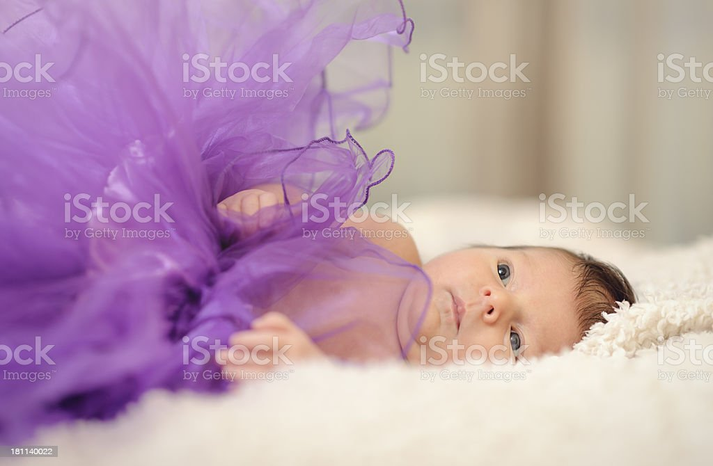 baby girl royalty-free stock photo