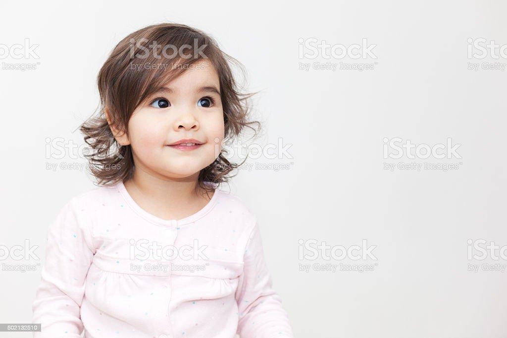 Bebê Menina - foto de acervo