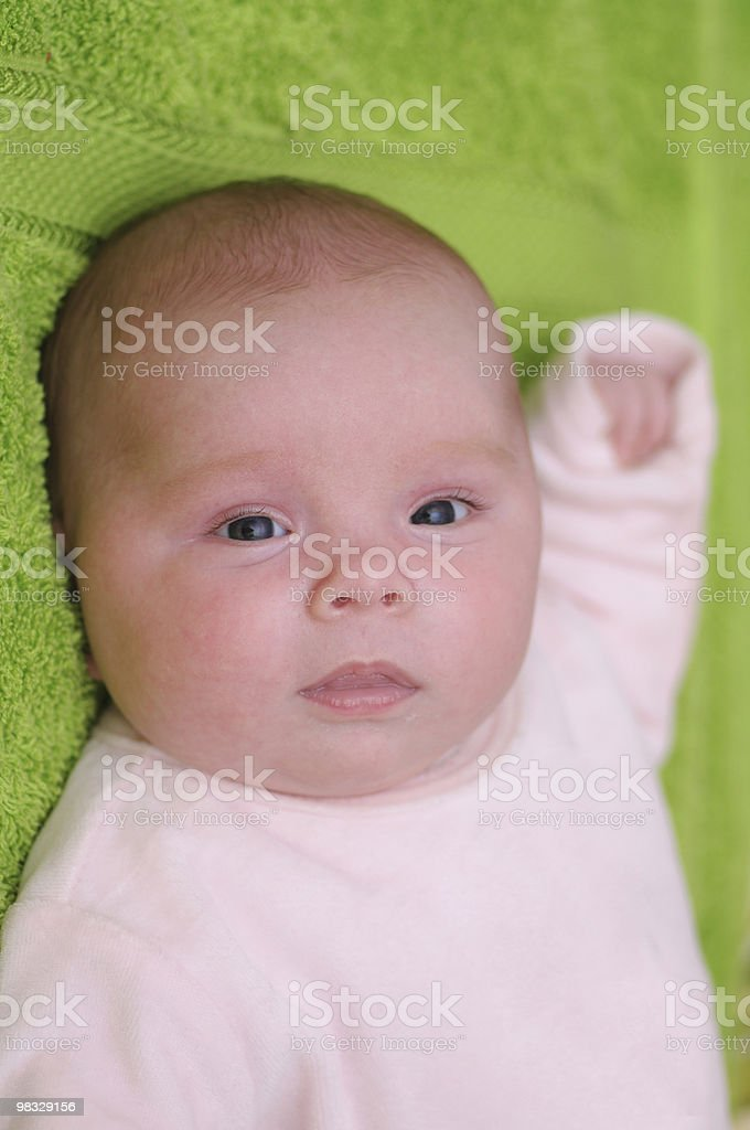 아기 여자아이 royalty-free 스톡 사진