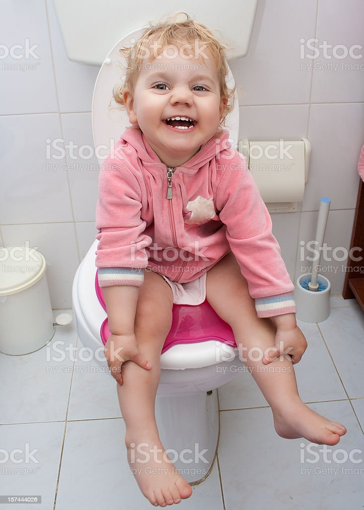 how to potty train a little girl