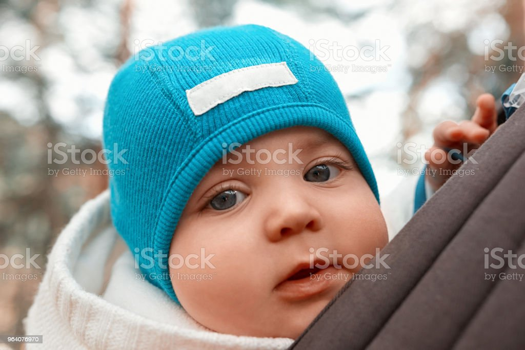 baby girl with cap - Royalty-free Adult Stock Photo