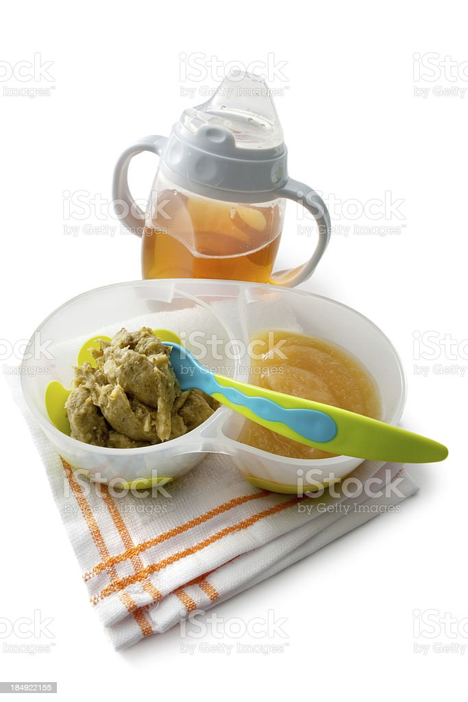 Baby Goods: Food royalty-free stock photo