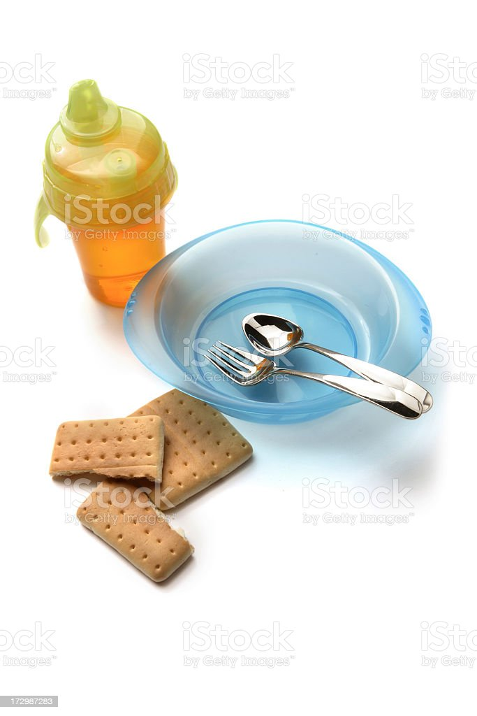 Baby Goods: Lunch stock photo