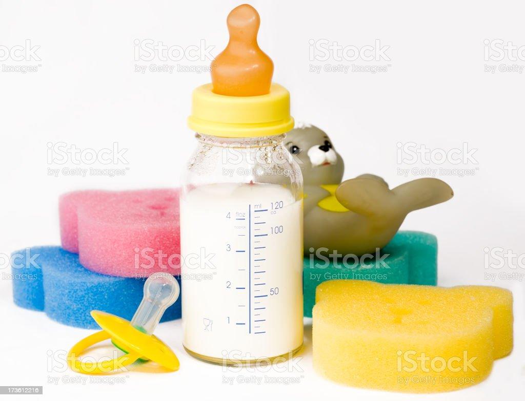Baby goods royalty-free stock photo
