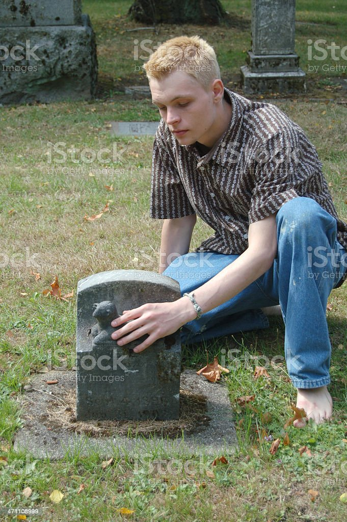 Baby Grave royalty-free stock photo