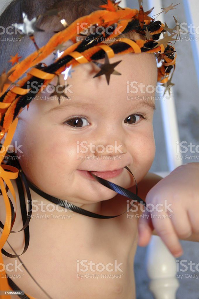 Baby Halloween royalty-free stock photo