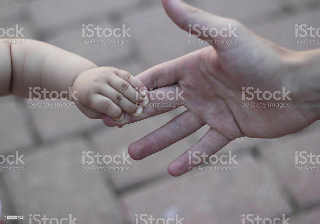 baby hand royalty-free stock photo