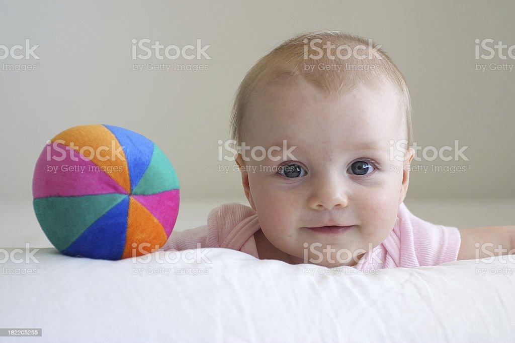 baby happy stock photo