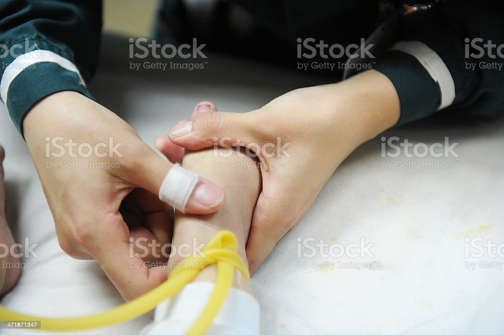 Baby Healthcare And Treatment stock photo