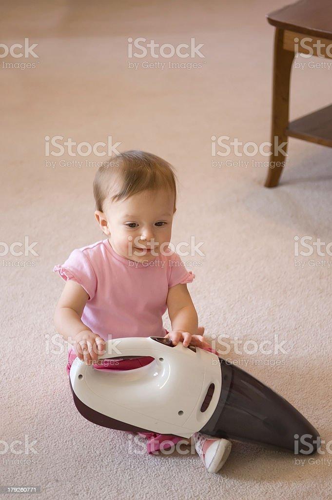 Baby Helper stock photo