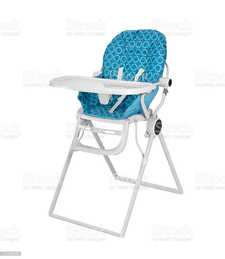 Baby High Chair stock photo