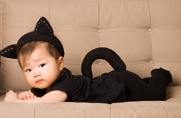 Baby in cat costume halloween picture id91715454?b=1&k=6&m=91715454&s=612x612&w=0&h=cbrg xgpqysbexm6rc4dqz898vqtqh3xckzoqoi liq=
