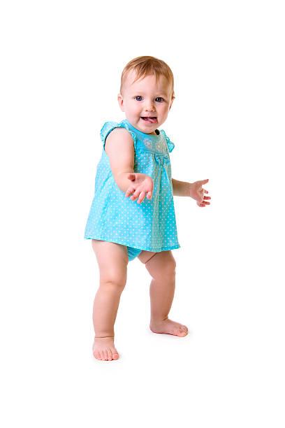 Bebé Aislado en blanco - foto de stock