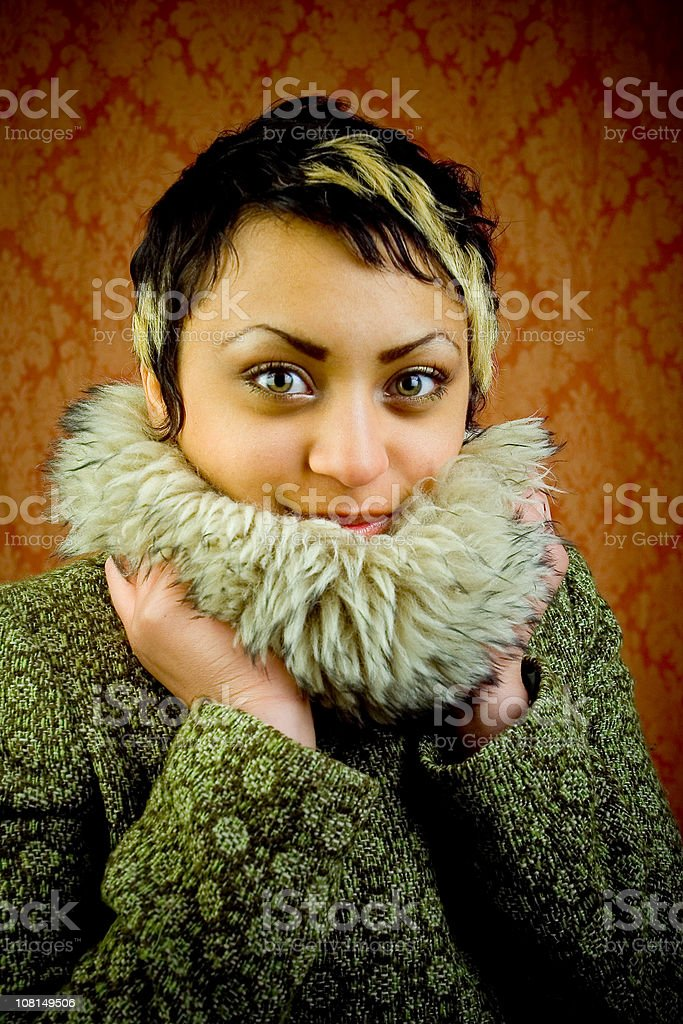 Baby, its cold outside royalty-free stock photo