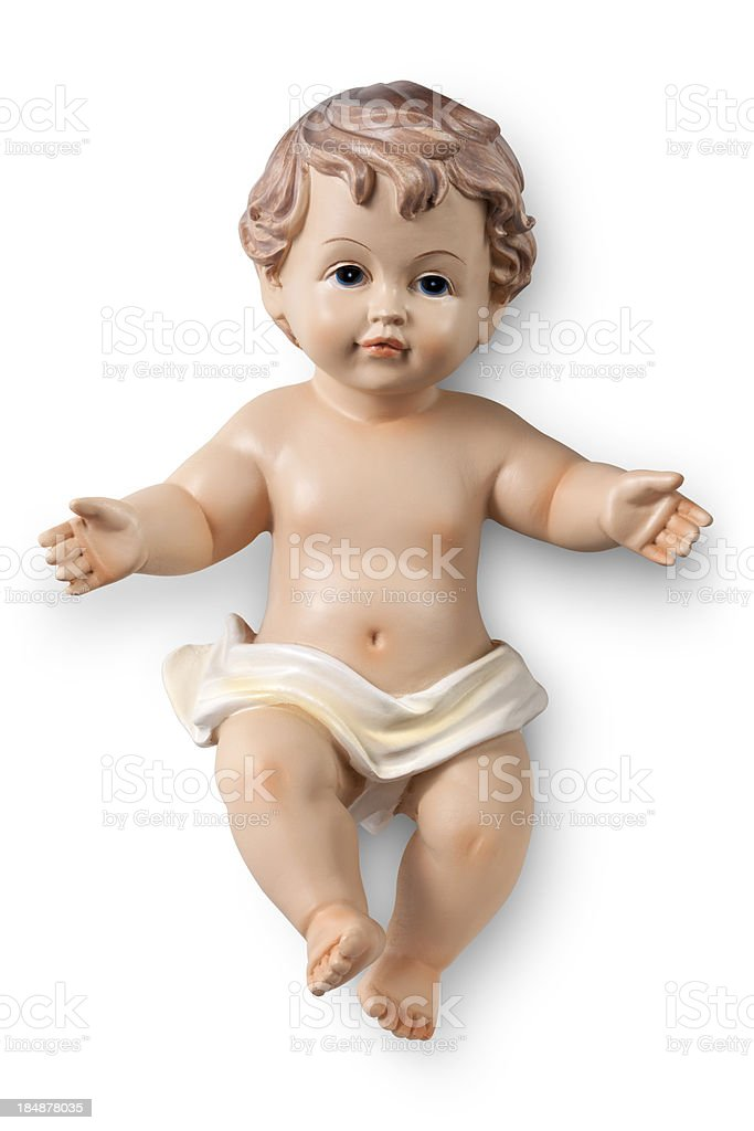 Baby Jesus stock photo
