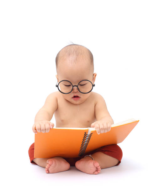 baby learning - genius stock photos and pictures
