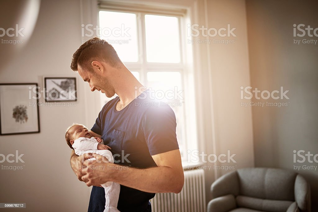 Baby love is the best of all stock photo