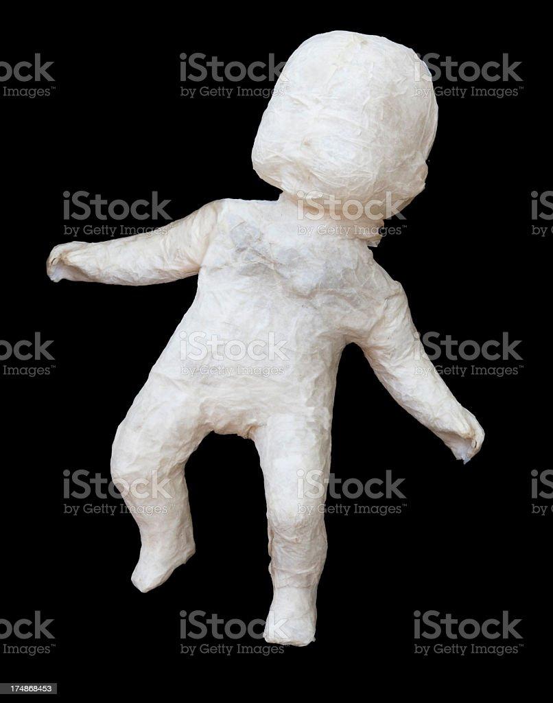 Baby Mache royalty-free stock photo