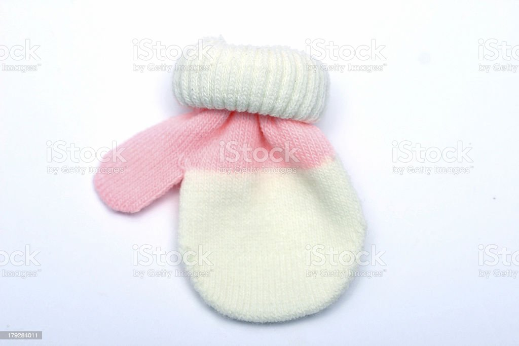 Baby Mitten royalty-free stock photo