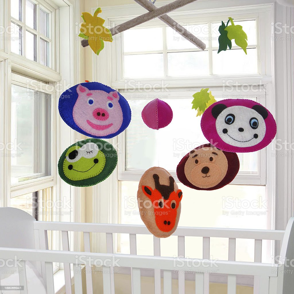 Baby Mobile stock photo
