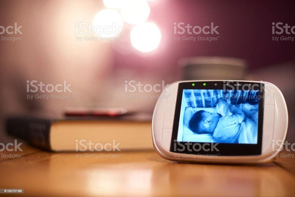 Baby Monitor stock photo
